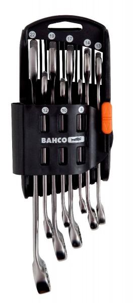 Bahco Jeu de clés mixtes plates 8 pcs en support plastique, 8-22mm - 111m/sh8