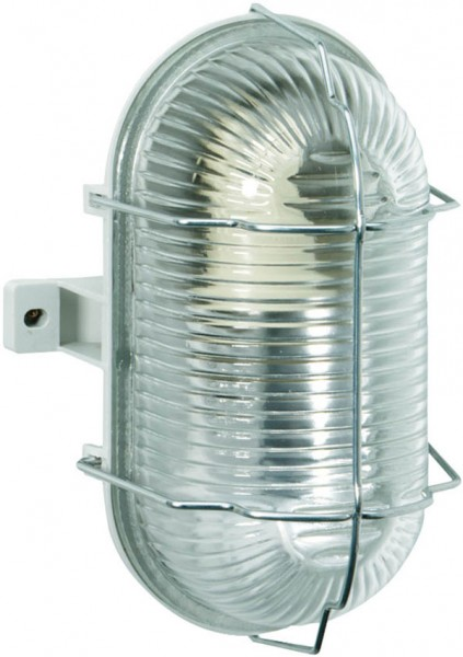 Brennenstuhl Lámpara ovalada, IP44, 60W, gris - 1270120