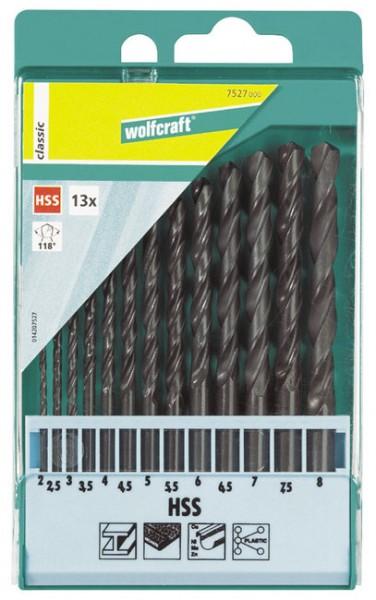 Wolfcraft Forets métaux laminés aux rouleaux HSS :. Ø 1,0-1,5-2,0-2,5-3,0-3,5-4,0-4,5-5,0-5,5-. 6,0-6,5-7,0-7,