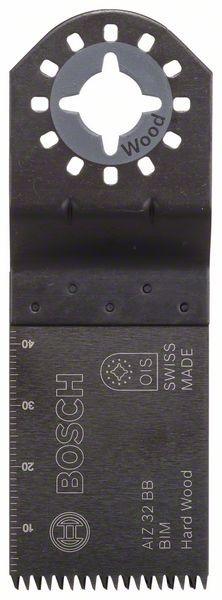 Bosch Lama per tagli dal pieno BIM AIZ 32 BSPB Hard Wood 50 x 32 mm - 2608661630