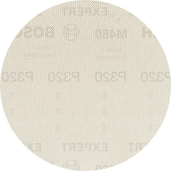 Bosch Professional EXPERT M480 Schleifnetz für Exzenterschleifer, 150mm, G 320, 50Stück - 2608900705