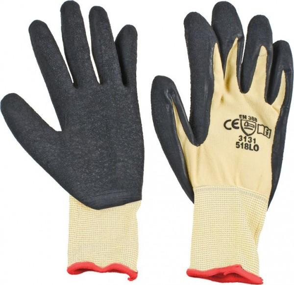 KWB Gebreide werkhandschoen, speciale latex coating op de handpalm - 935420