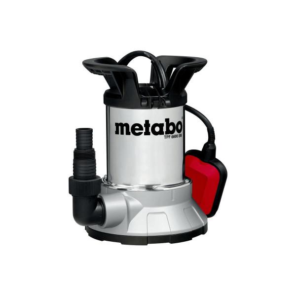 Metabo Bomba sumergible para agua limpia de aspiración plana TPF 6600 SN, Cartón - 0250660006