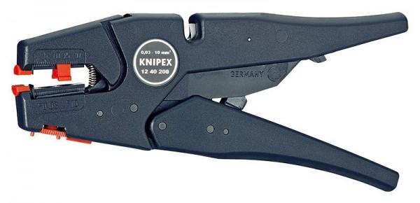Knipex Pinza spelacavi frontale a regolazione automatica 200 mm - 12 40 200 SB