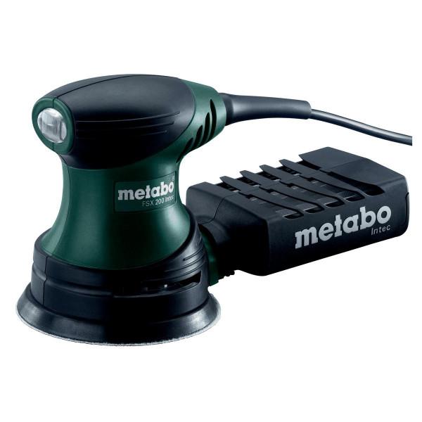 Metabo Levigatrice roto-orbitale palmare FSX 200 Intec, Valigetta in plastica - 609225500