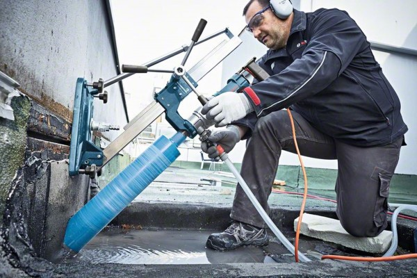 """Bosch Corona diamantata 122x450mm, 1 1/4"""" Standard for Concrete - 2608601741"""