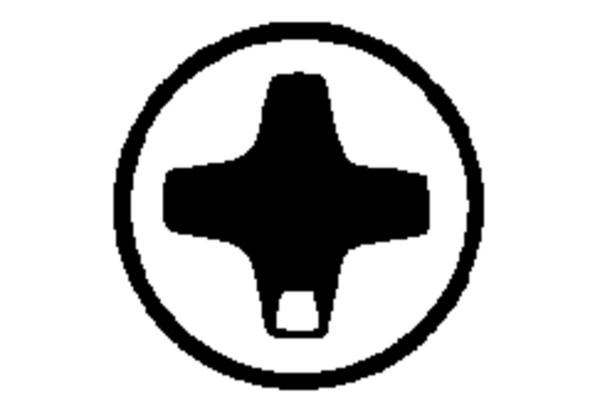 Metabo 3 inserti Phillips PH 1/ 2 / 3 Torsion - 628537000