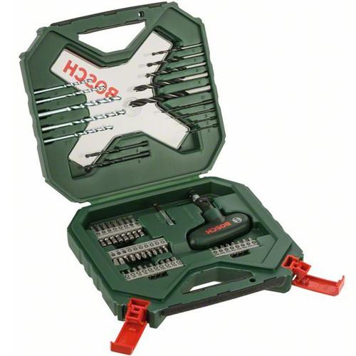 Bosch Coffret X-Line Classic de forets et d'embouts de vissage, 54 pièces - 2607010610