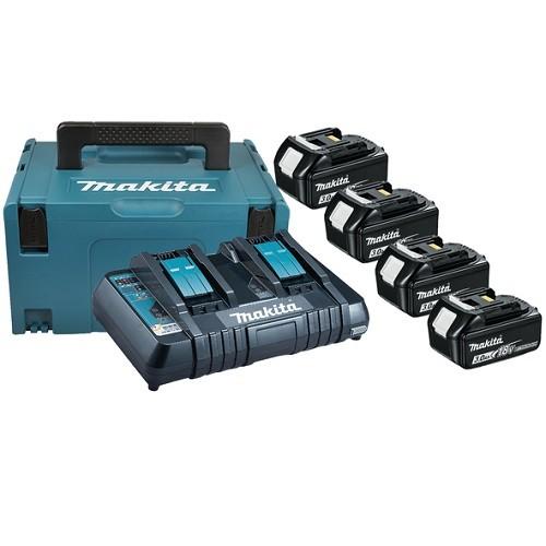 Makita Kit energy 18V 3,0Ah + caricabatterie doppio rapido - 197720-6