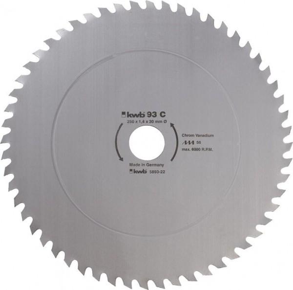 KWB Cirkelzaagblad voor de bouw en de tafel zagen ? 350 mm - 593522