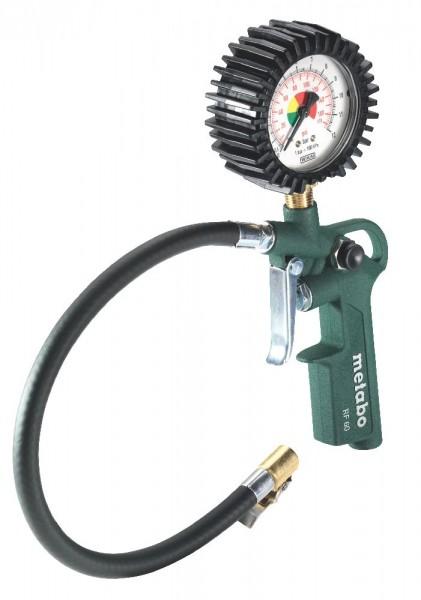 Metabo RF 60 Druckluft-Reifenfüllmessgerät, Karton - 602233000