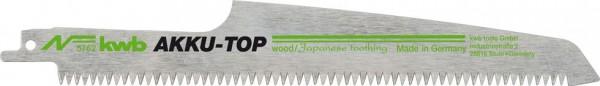 KWB Reciprozaagblad, met Japan-vertanding, houtbewerking, HCS, 2 x fijn - 576200