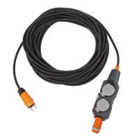 Brennenstuhl Powerblok met verlengsnoer (10m kabel, IP54, H07RN-F 3G2,5) - 916210016
