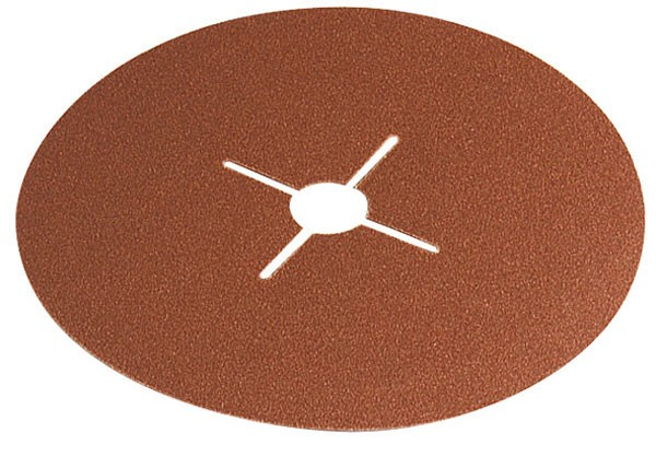 Wolfcraft Disques abrasifs fibre, grain 24