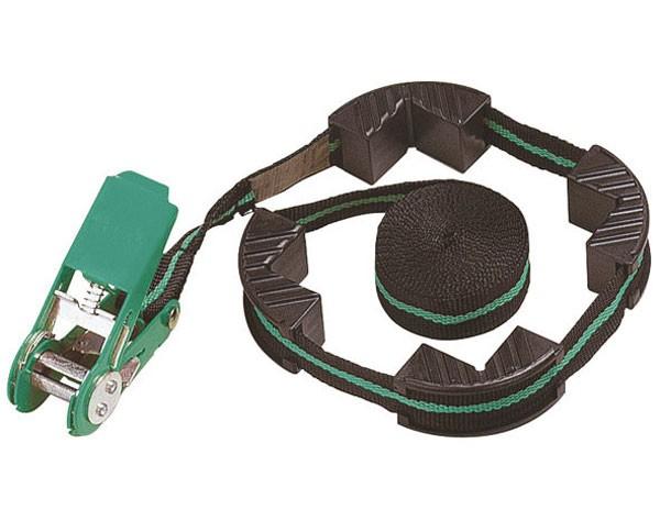 Wolfcraft 1 tensor de cinta con carraca, con mordazas de sujeción, 4 m - 3441000