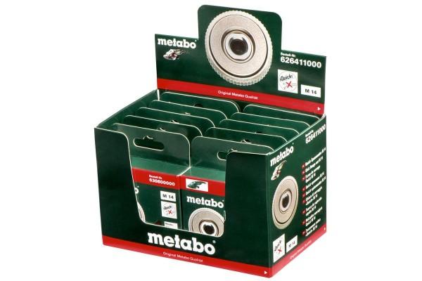 Metabo 10 Quick-spanmoeren M 14 - 626411000