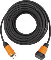 Brennenstuhl Verlengsnoer IP44 (10m kabel, zwart, H07RN-F 3G1,5) - 9161100100