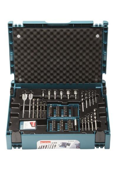 Makita 69-delige boor- en schroefset in MAKPAC koffer - B-49638