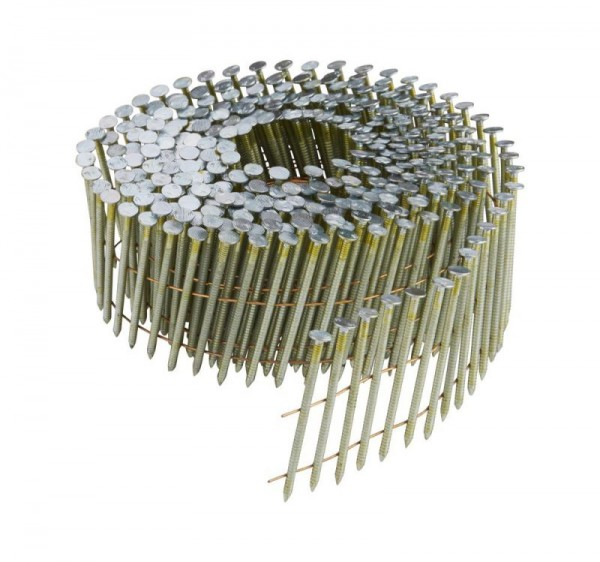 DeWALT Chiodi in bobina DNN 38 mm, 24500 pezzi, ring, galvanizzati - DNN20R38G12E