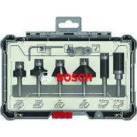 Bosch Rand- und Kantenfräser-Set, 6-mm-Schaft, 6-teilig - 2607017468