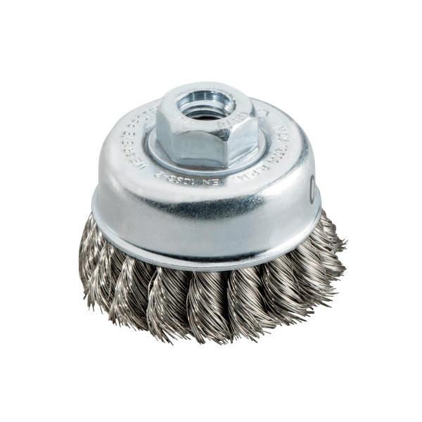 """Metabo Cepillo hueco 65x0,35 mm/ 5/8"""", alambre de acero Inox, trenzado, inoxidable, grosor del alambre 0,35 mm - 623805000"""