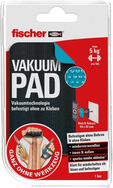 Fischer Vakuum Pad Klett+Velours - 546326