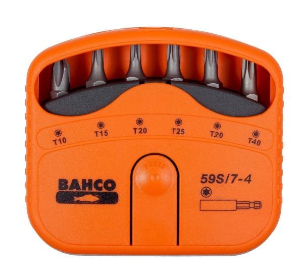 Bahco JEU D'EMBOUTS 7 PCS TORX10-TORX40 - 59S/7-4