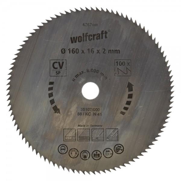 Wolfcraft lama per sega circolare CV, 110 denti