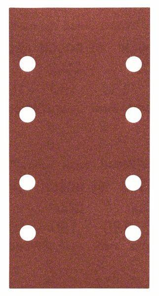 Bosch Bandes abrqasives Expert for Wood, 10 unités, 8 trous, 93 x 186 mm, 180