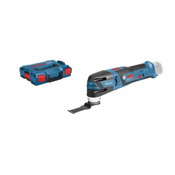 Bosch Professional Akku-Multi-Cutter GOP 12V-28, mit 1 x Tauchsägeblatt AIZ 32 APB, ohne Akku und Ladegerät - 06018B5002