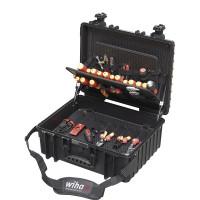Wiha Jeu d'outils électricien Competence XL Mélangé, 81 pcs y compris un coffret - 40523