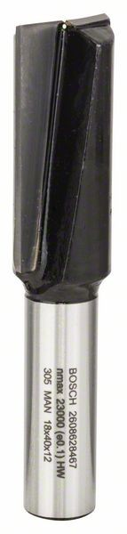 Bosch Nutfräser, 12 mm, D1 18 mm, L 40 mm, G 81 mm