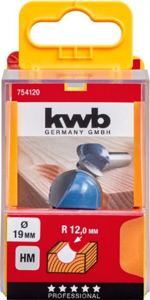 KWB Holprofielfrees HM - 754120