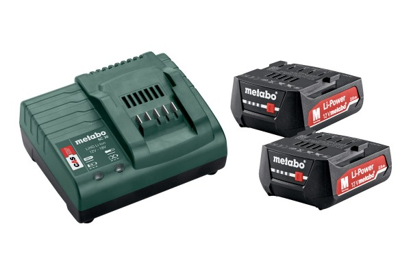 Metabo Basic-Set 12V, 2x2,0 Ah - 685300000