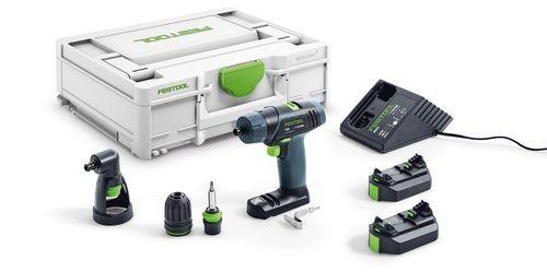 Festool Perceuse-visseuse sans fil TXS 2,6-Set + 2 x batterie + chargeur MXC - 576102