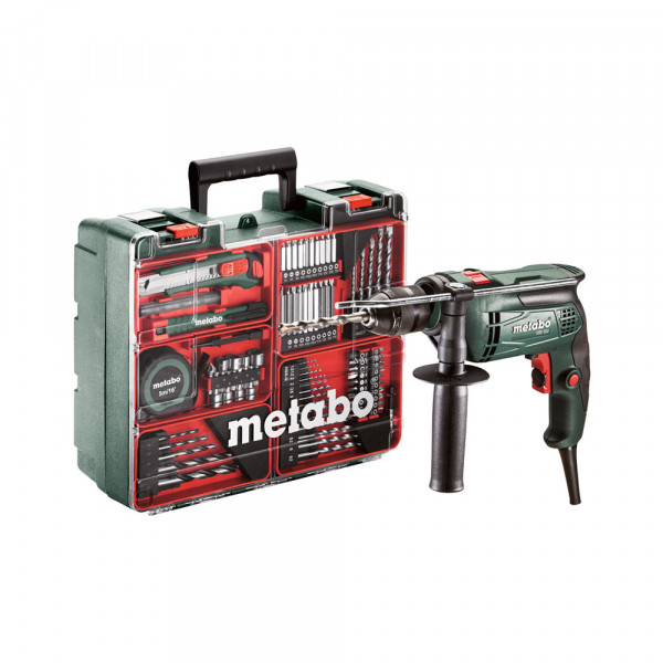 Metabo SBE 650 Set Perceuse à percussion, 650W - 600671870