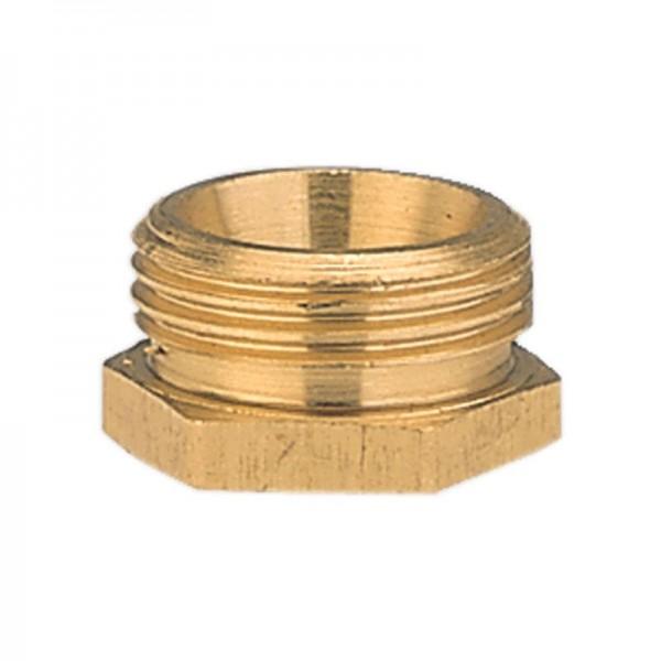 Gardena Raccord réducteur en laiton 26,5 mm (G 3/4)-filetage extérieur/ 21 mm (G 1/2)-filetage intérieur - 07270-20