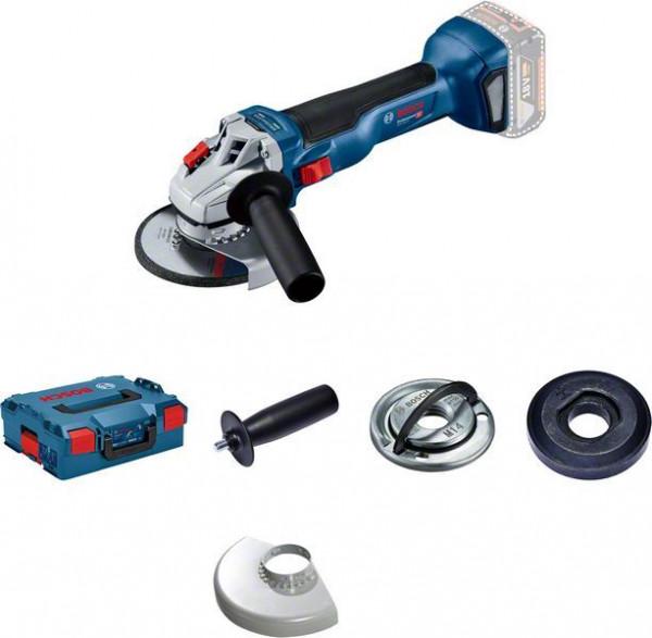 Bosch Professional Meuleuse angulaire sans fil GWS 18V-10, L-BOXX + Calage L-BOXX (sans batterie ni chargeur) - 06019J4003