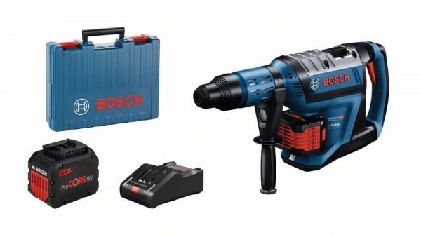 Bosch Professional Akku-Bohrhammer BITURBO mit SDS max GBH 18V-45 C, 2 x Akku ProCORE18V 12.0Ah - 0611913002