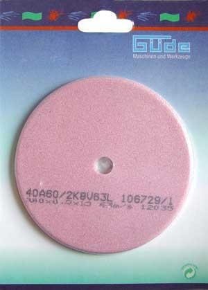 Güde Schleifscheibe 100x10x4.5 mm f. Kettenschärfgerät