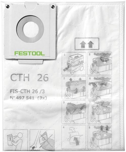 Festool Sacchetto filtro di sicurezza FIS-CTH 48/3 - 497542