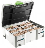 Festool  Assortiment de DOMINO en hêtre DS 4/5/6/8/10 1060x BU - 498899