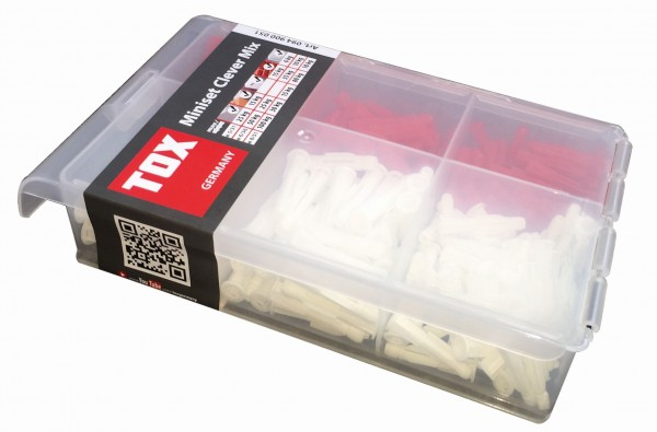 """TOX Assortimento standard """"Miniset Clever Mix"""" 215 pz - 94900051"""