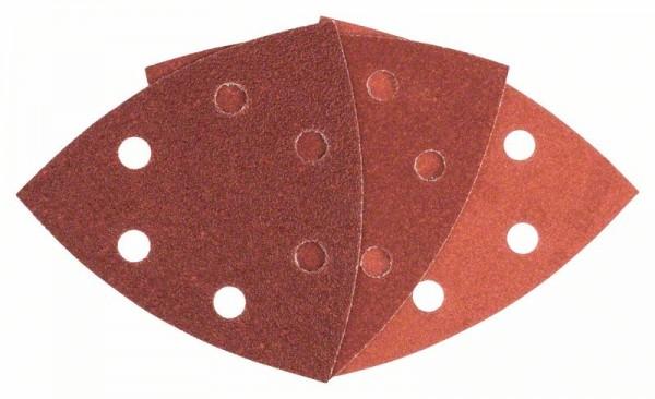 Bosch Professional Disque abrasif C470, pack de 6, G60/120/240 - 2608605165