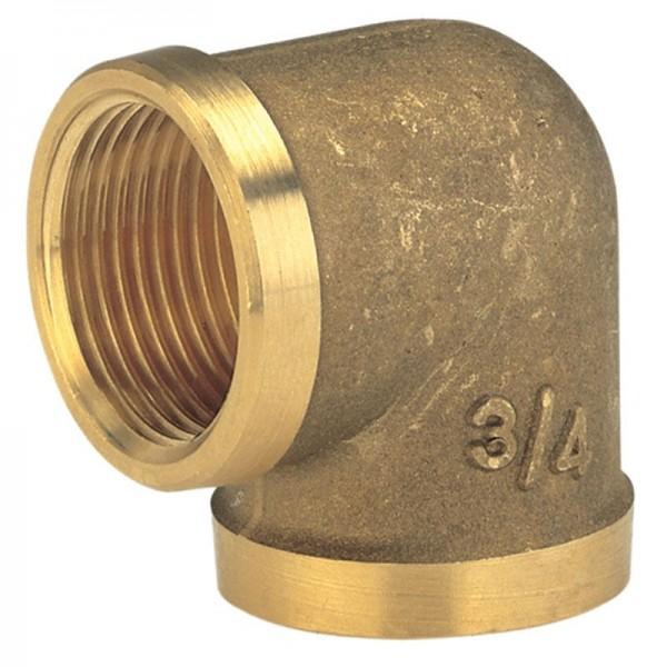 Gardena Raccord coudé en laiton avec filetage intérieur 26,5 mm (G 3/4) - 07280-20