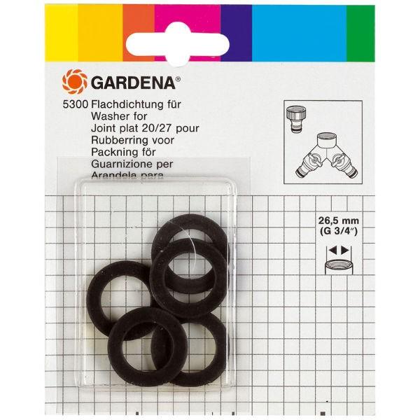 Gardena Rubberringen, 5 stuks - 05300-20