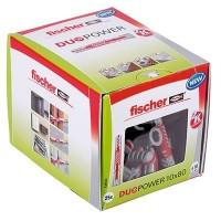 Fischer Duopower 10x80 LD, 25 pièces - 538252