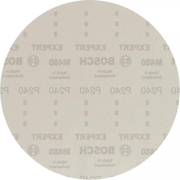 Bosch Professional EXPERT M480 Schleifnetz für Trockenbauschleifer, 225mm, G 240, 25-tlg. - 2608900713