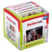 Fischer Duopower 6x50mm S LD, 50 pièces - 538255
