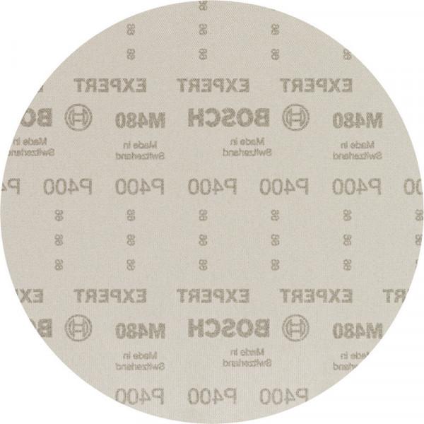 Bosch Professional EXPERT M480 Schleifnetz für Trockenbauschleifer, 225mm, G 400, 25-tlg. - 2608900715
